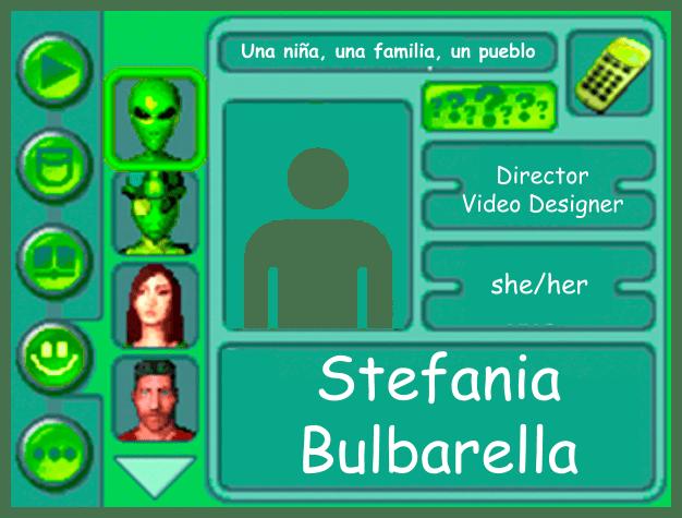 Performer card for Stefania Bulbarella