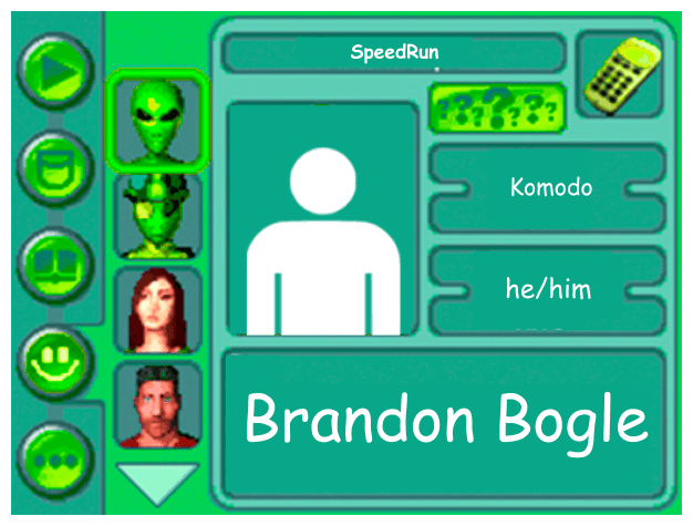 Performer card for Brandon Bogle