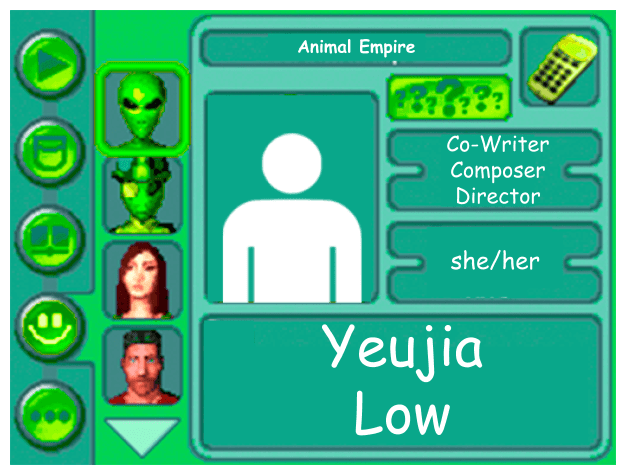 Performer card for Yeujia Low