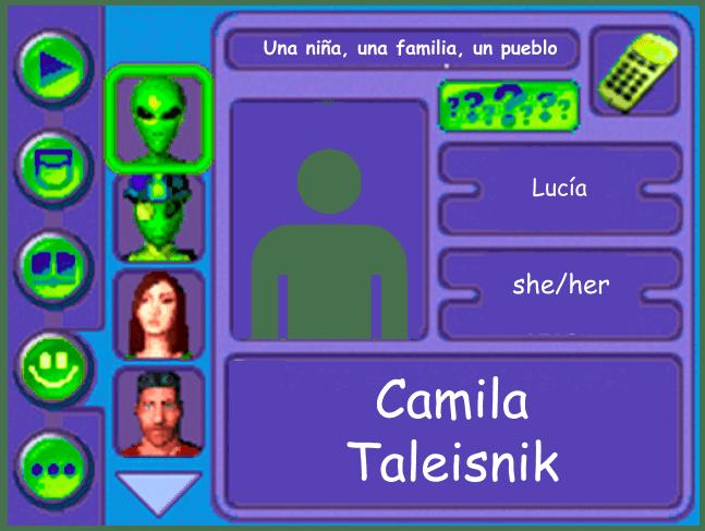 Performer Card for Camila Taleisnik
