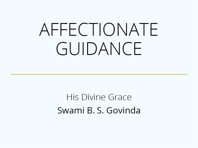 Affectionate Guidance