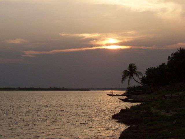The Padma River at Rajshahi