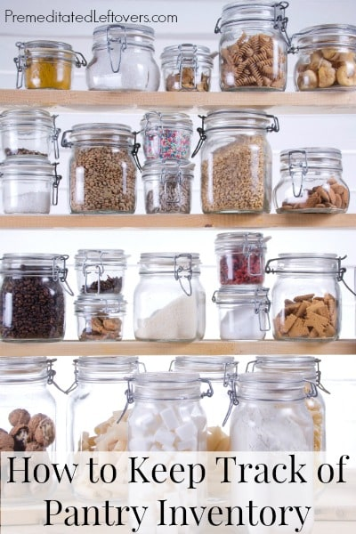 kitchen inventory gadgets how to keep track of
