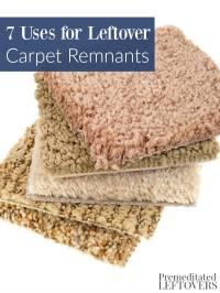 7 Uses for Leftover Carpet Remnants