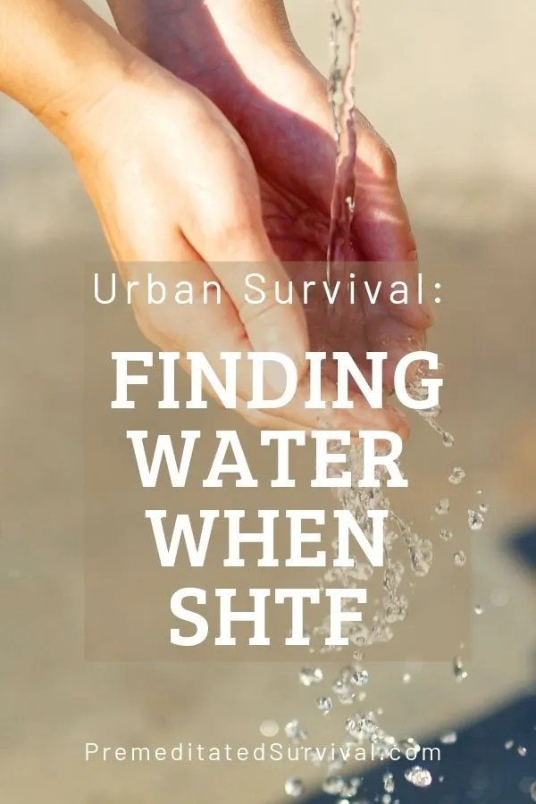 finding water when shtf