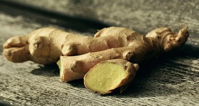 real ginger root