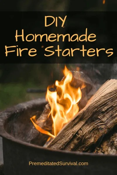 DIY Homemade Fire Starters