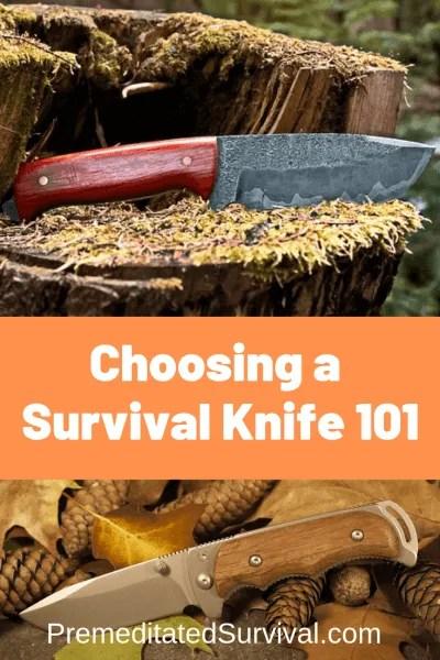 choosing survival knife
