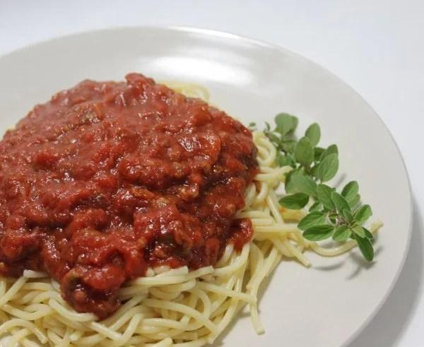 Homemade Spaghetti Sauce – Step By Step