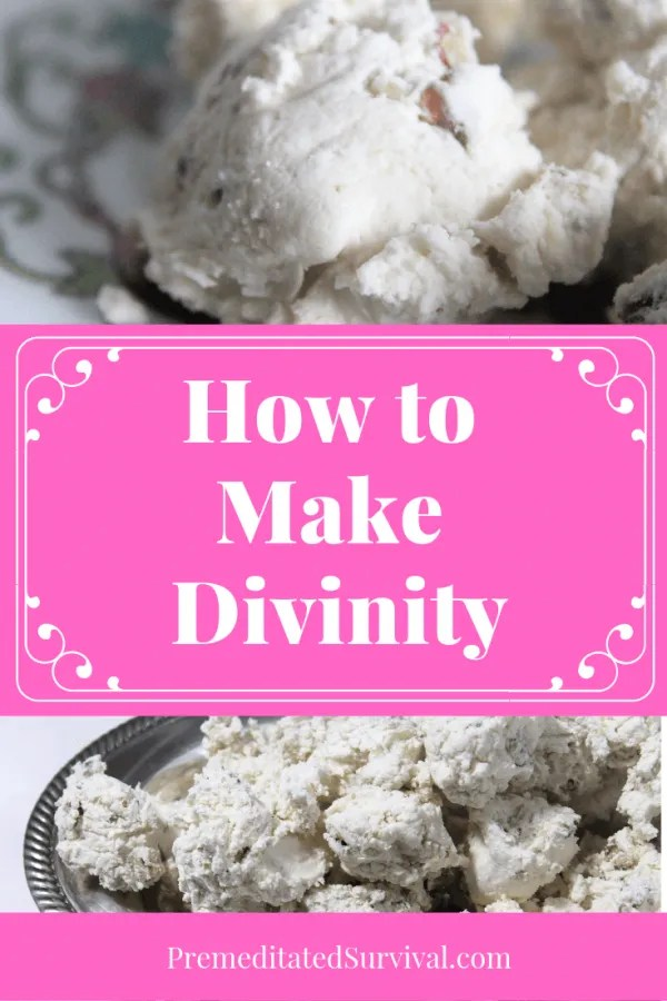 how to make divinity