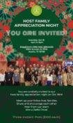 PROGRAM HOST FAMILY INVITATION