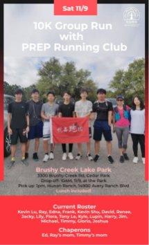 program Running club nov 19