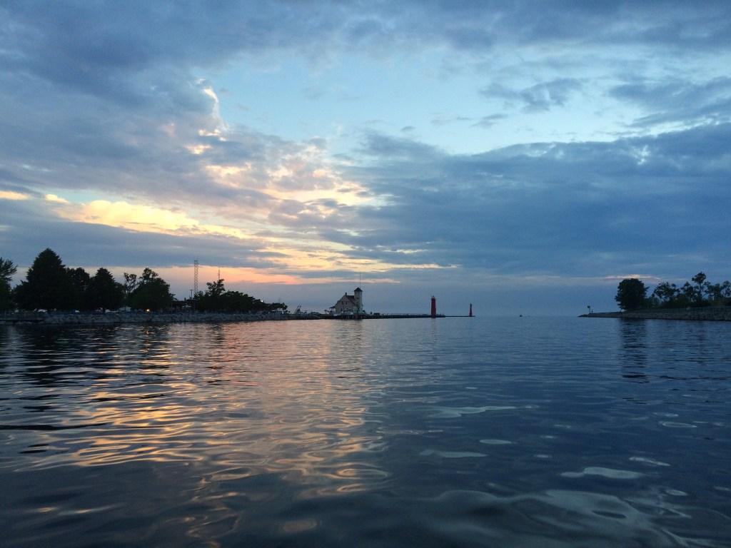Muskegon Lake Michigan