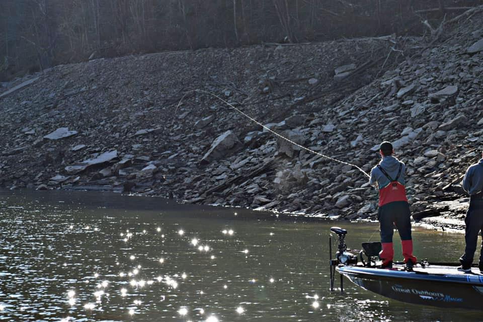 Marshall University Fishing Cup_Bass Fishing on Summersville Lake