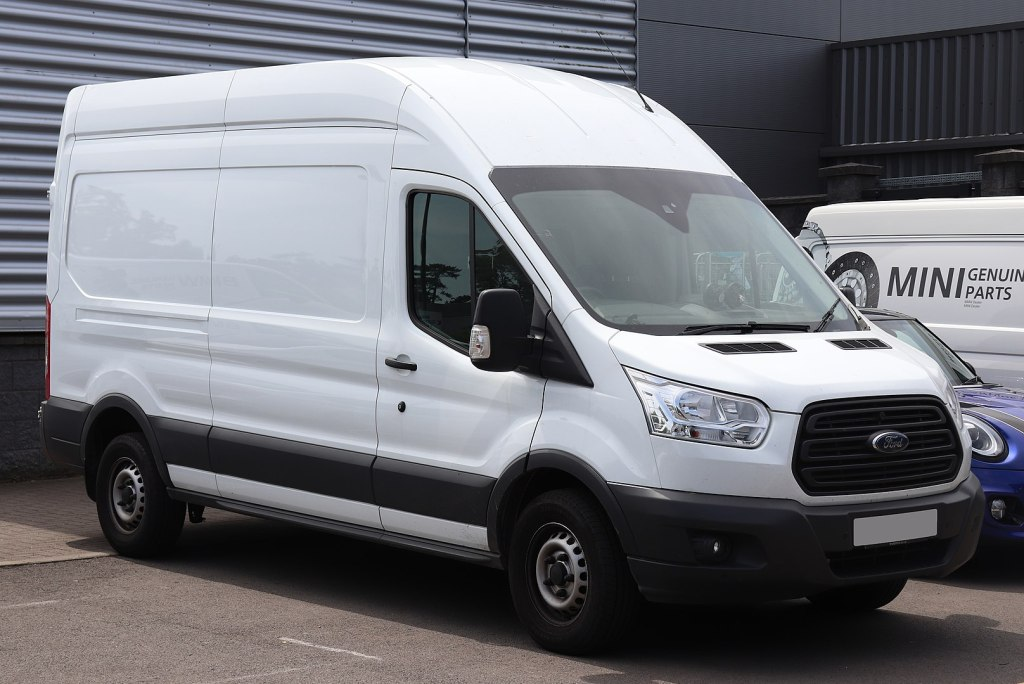 Living in a Ford Transit