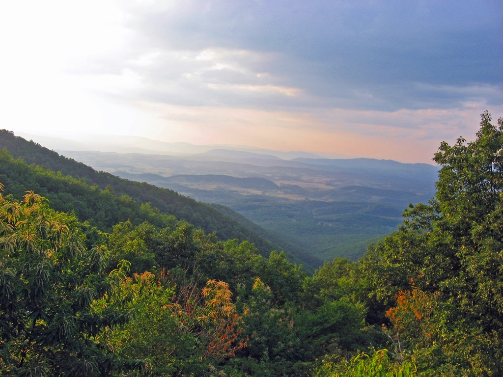 Scenic View from Hike of the Appalachian Trail