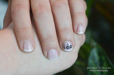 "Brides nail polish ""i do"""