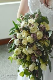 Brides bouquet from Wegmans in Cherry Hill NJ