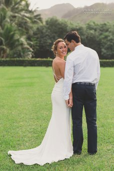Minimalist Wedding Gown