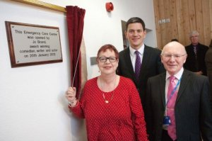 Emergency Care Unit - Jo Brand, David Miliband
