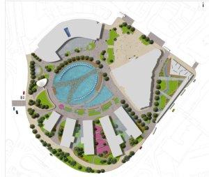 Bradford Mirror Pool City Park
