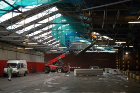 Lothian Buses Engineering Workshop-  Longstone Depot in Edinburgh