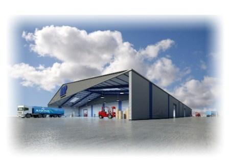 Holmen Paper Terminal Shed -warehouse Queen Elizabeth Dock- Hull