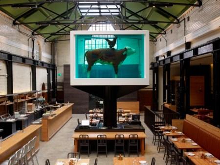 Tramshed - Shoreditch, London- Damien Hirst  2012
