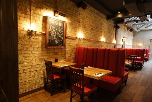 Burger & Lobster- Soho- 40 St John St, London