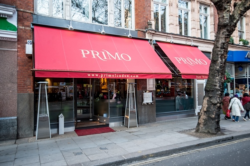 Primo London Restaurant- Soho
