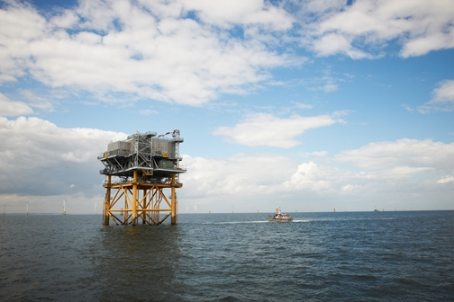 Lincs Offshore Wind Farm-Skegness coast