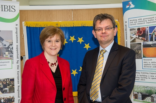 Scene Building- Deputy First Minister Nicola Sturgeon MSP