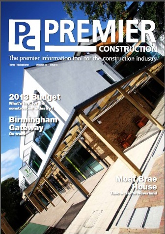 Premier Construction Magazine Issue 18-8 Cover