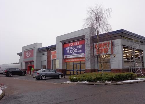Bolton Kia-  Linkway - Middlebrook Retail Park