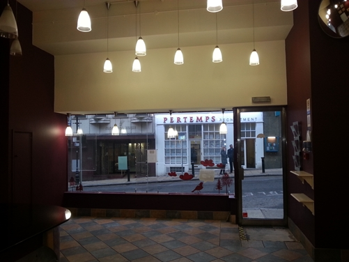 Adam's Restaurant- New Street Station, Birmingham