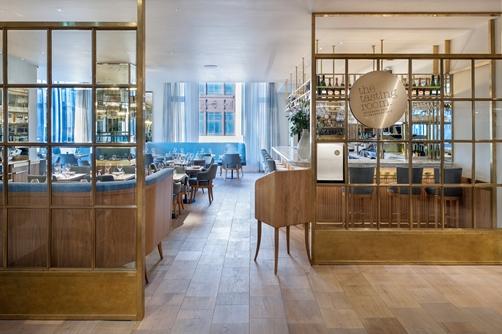 The Corner Restaurant and Champagne Bar- Selfridges- London