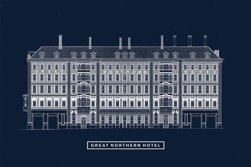 The Great Northern Hotel- Plum and Spilt Milk- King's Cross- London