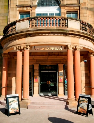 Pizza Express- Morningside, Edinburgh