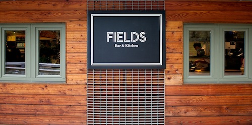 Lincolns Field Bar and Kitchen- heritage gardens of Lincoln's Inn Fields near Holborn