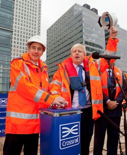 Boris Johnson- Crossrail