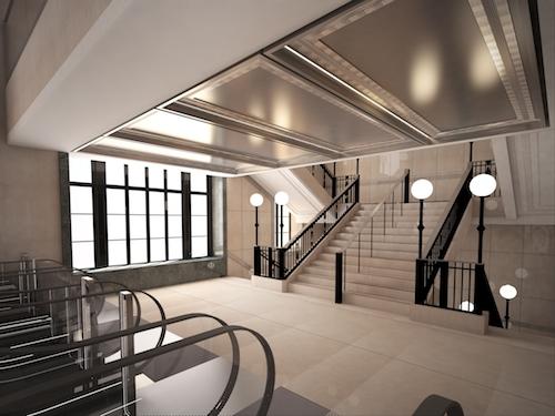 Harrods escalator