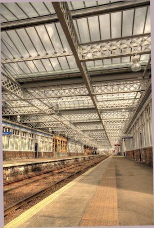 Gilmour Street Train station, Paisley, Glasgow