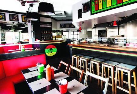 Boom Burger, Portobello Road, London