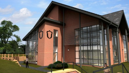 Hartpury College FE Learning Resource Centre, Gloucester