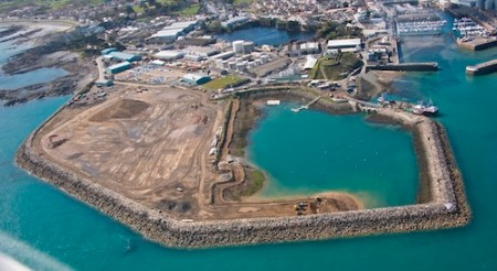 Picture:Brian Green - 11/04/2012 - Aerial E - Guernsey new waste facilities