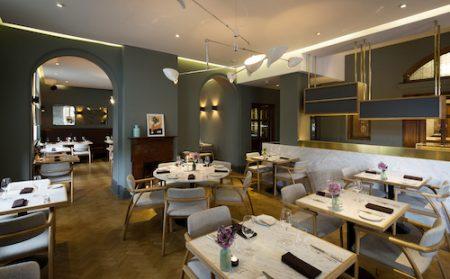 typing room restaurant, Bethnal Green, London