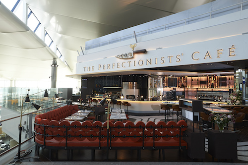 The Perfectionists , Heston Blumenthal, Heathrow Terminal 2 Perfectionists'