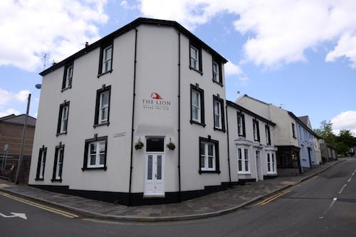 Lion Hotel, Blaenavon, Wales