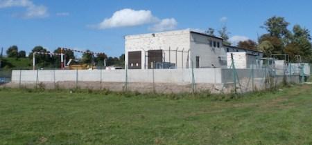 Sesswick Pumping Station near Bangor-on-Dee, Wrexham