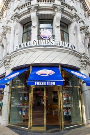 Bubba Gump, Trocadero, 7-14 Coventry Street, London